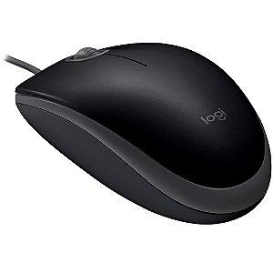 Mouse Usb Logitech M110 Silent, Preto, Clique Silencioso, 910-005493