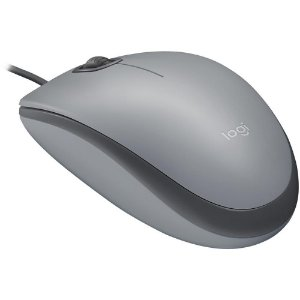 Mouse Usb Logitech M110 Silent, Cinza, Clique Silencioso, 910-005494