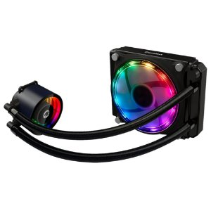Watercooler Gamemax Ice Chill 120, Rainbow Argb, Liquid Cooler, 1Fan 120 Mm, Com Controladora