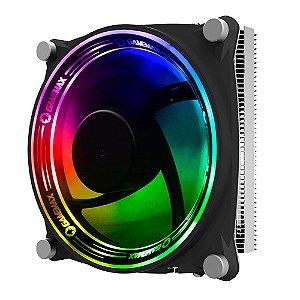 Cooler Universal Para Processador, Intel E Amd, Gamemax Gamma 300, Rgb Controlado, Fan 120Mm, Tdp 135W