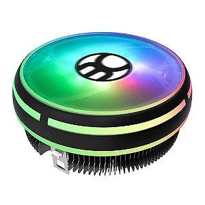 Cooler Universal Para Processador, Intel E Amd, Bluecase Bcg-06Uargb, Rgb, Fan 120Mm, Tdp 95W