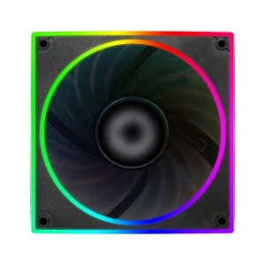 Cooler Fan Rgb Bluecase Bfr-22Rgb, Controlável, 6 Pinos, Led, 12X12X2.5 Cm