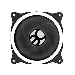 Cooler Fan Branco Bluecase Bfr-11W, 12X12X2.5 Cm, Led