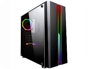 Pc Gamer Intel I3-10100F, Gigabyte H410M, Ssd 240 Kingston, Mem 8 Corsair, Kmex 04Rd, Fonte 550 Gigabyte, Gtx1660 Super