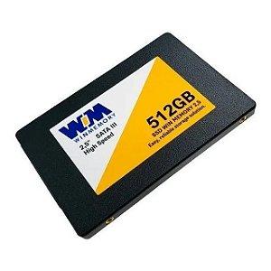 "Ssd Sata3 512 Gb Winmemory Swr512G, 2.5"", 7Mm, Lê: 560 Mb/S, Grava: 540 Mb/S"