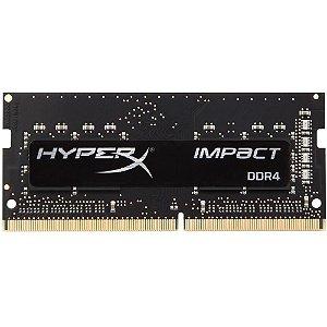 Memória Notebook Ddr4 8Gb/2400 Mhz Kingston Hyperx Impact Hx424S14Ib2/8