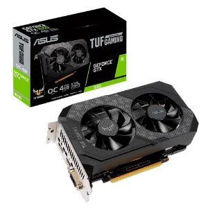 Placa De Vídeo Geforce Ddr6 4Gb/128 Bits Gtx 1650 Asus, Tuf-Gtx1650-O4Gd6-P-Gaming