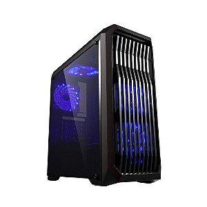 Pc Gamer Intel I3-9100F, Gigabyte H310M, Ssd M2 480Gb Wd, Mem. 8Gb Hyperx, Bluecase Bg019, Fonte 550 Gigabyte, Gtx1050Ti