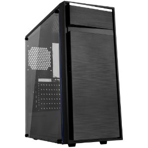 Gabinete Gamer Bluecase Bg-015, Sem Fonte, Sem Fan, Usb 3.0, Preto
