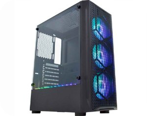 Pc Gamer Intel I3-9100, Gigabyte Z390M, Ssd 120 Gb Crucial, Mem. 8 Gb Hyperx, Gabinete Kmex 02Jt, Fonte 550 W Gigabyte