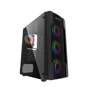 Pc Gamer Intel I3-10100F, Gigabyte Z490M, Ssd 120Gb Crucial, Mem 8Gb Hyperx, Bluecase Bg031, Fonte 750 Gigabyte, Gtx1650