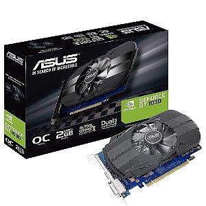 Placa De Vídeo Geforce Ddr5 2Gb/064 Bits Gt 1030 Asus, Ph-Gt1030-O2g, Hdmi, Dvi