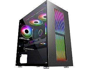 Pc Gamer Intel I3-10100F, Gigabyte Z490M, Ssd 240Gb Kingston, Mem. 8 Gb Hyperx, Kmex 02Ru, Fonte 450 Gigabyte, Gtx1050Ti