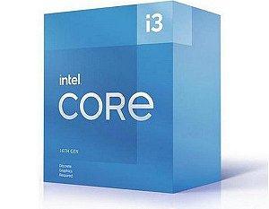 Processador 1200 Intel 10ª Geração Core I3-10105F, 3.70 Ghz, 6 Mb Cache, Bx8070110105F, Sem Vídeo