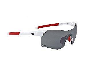 Óculos De Sol HB Quad F white/red