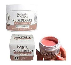 Gel P/ Unhas Beltrat Nude Perfect Hipoalergênico 20g Led/uv