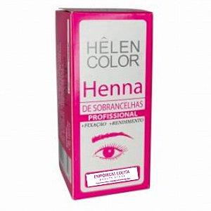 Pigmento Helen Color Para Sobrancelhas Profissional Pink