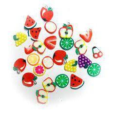 Frutinhas Decoração De Unhas Para Encapsulamento Nail Arts