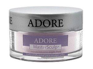 Adore Mastersculp Pó Acrílico Linha Profissional Pra Esculpir Unhas 40g - Light Pink