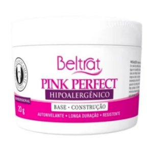 Gel Beltrat Pink Perfect Autonivelante Base Construção 20 gr