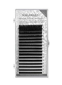 Nagaraku Extensão De Cílios Mix Extensão Flexível Mink Profissional Curvatura D Mix 0.25D