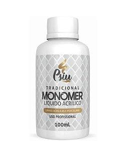 Psiu Monomer 100ml Unhas Acrilicas Alongamento