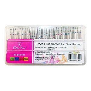 Kit Brocas Diamantadas Hello Mini