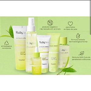 Kit Proteção Urbana Ruby Rose (6 Produtos) Skin Anti Poluição Limpeza Pele Envio Imediato