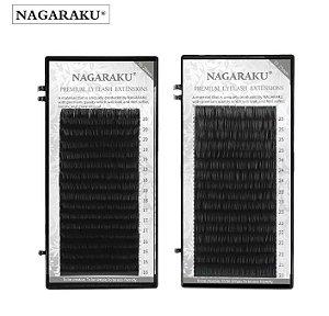 Cílios Fio a Fio Para Extenção Nagaraku Premium 0.03C Mix
