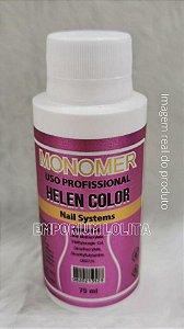 Monomer Helen Color 75ml Liquido Acrílico Para Extensão De Unha Profissional Manicure Nail Designer