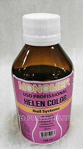 Monomer Helen Color 100ml Liquido Acrílico Para Extensão De Unha Profissional Manicure Nail Designer