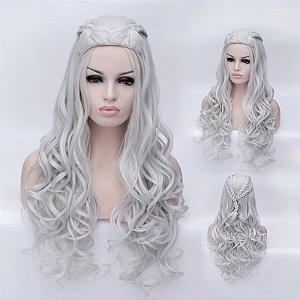 Peruca Daenerys Platinada