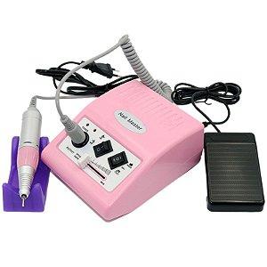 Lixadeira Nail Master Eletric Drill (500) 35000 RPM – 110V – ROSA