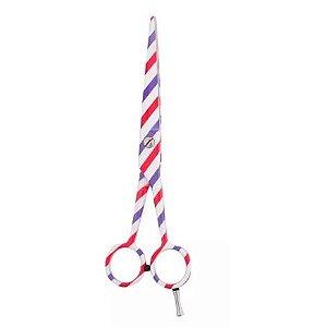 Tesoura Fio Navalha 6.0 Profissional Barbe Pole