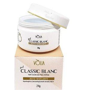 Gel Classic Blanc Vòlia Nail Auto Nivelante Led/uv 24g