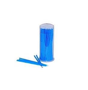 Cotonete Microbrush para Cílios Navina c/ 100 unidades Rosa