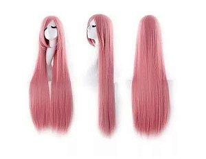 Peruca Cosplay 1 metro rosa