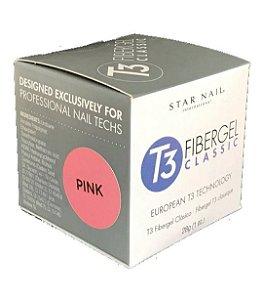 Gel para unhas Star Nail T3 Uv Fibergel 28g Pink