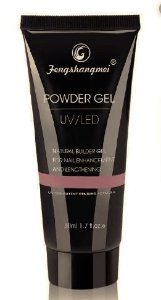 Polygel Powder Gel Fengshangmei Alongamento Unha 50ml N°01