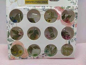 Decoração Flores secas com folhas Para Encapsulamento