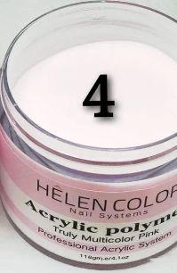 PÓ ACRÍLICO HÊLEN COLOR  - Pink