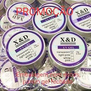 DUPLICADO - 40 Gel X&D 17 Nude 15g