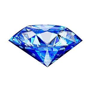 Diamante para Foto tamanho Padrão Azul