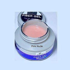 Gel Fiber Bella Rosa Uv Led Cor Pink Nude 30Gramas