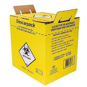 Coletor de Material Perfurocortante - Descarpack 3l