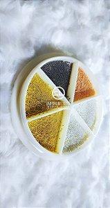 Kit 4 Cores Sortidas de Caviar tamanho P