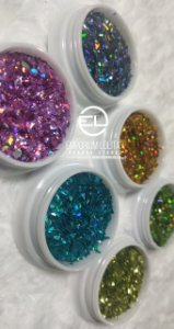 kit 6 Glitter Flocado para ENCAPSULAMENTO Coloridos