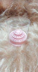 Mini Porta Broca Rosa