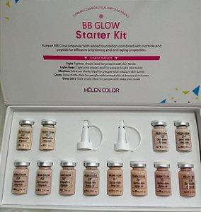 Helen Color BB Glow - Starter Kit. 8m1X12pcs Pigmento