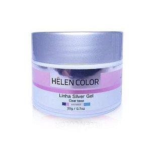 Gel Helen Color - Builder Gel -Linha Silver -NUDE SAKURA 20g (1 Unidade)